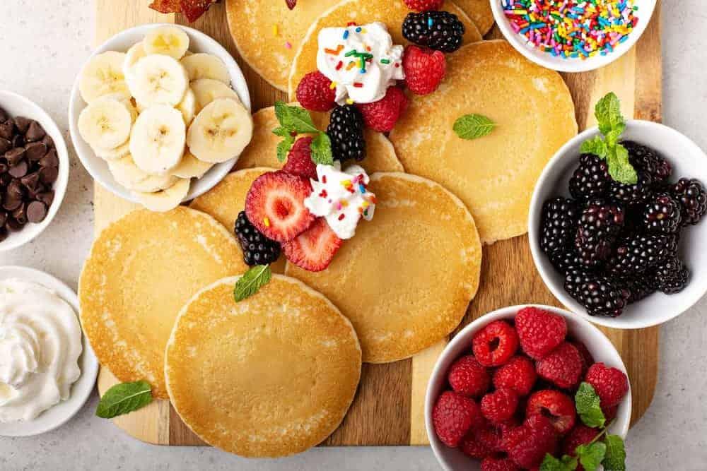 Simply Mumma_Grazing Platter Ideas Pancake Board