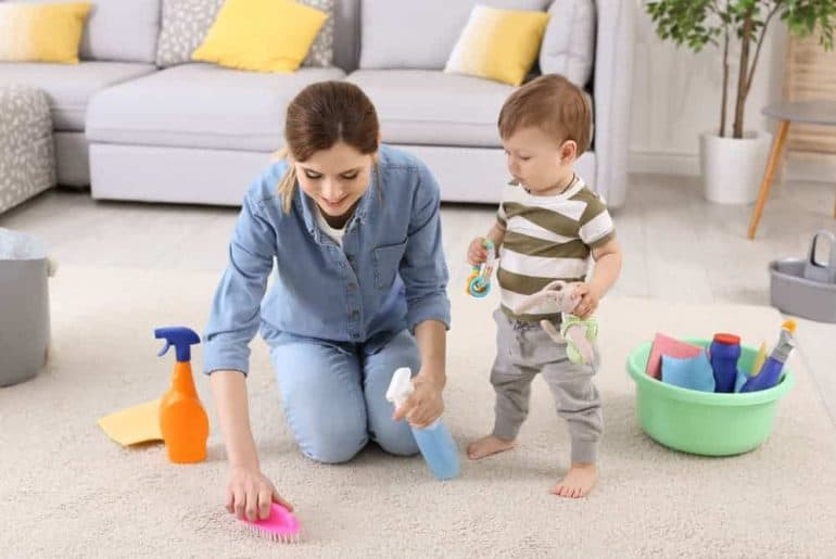 Simply Mumma_Cleaning Solutions for Stains on Walls, Carpets and Clothes