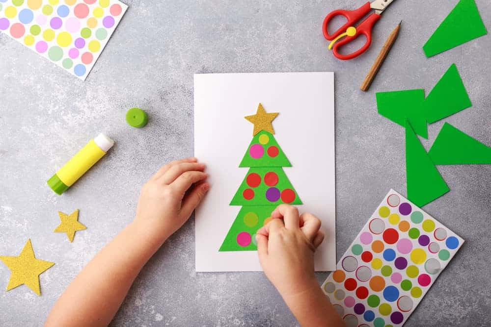 Simply Mumma_Toddler Crafts for Christmas Greeting Cards