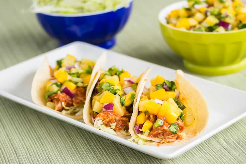 Simply Mumma_Stand Mixer Recipes Peri-Peri Chicken Tacos