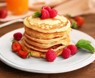 Simply Mumma_Stand Mixer Recipes Ricotta Pancakes